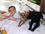 Diego, Chilli & Baby
